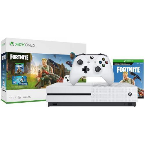 Xbox One S 1TB Fortnite Bundle - Full-game download of Fortnite Battle Royale