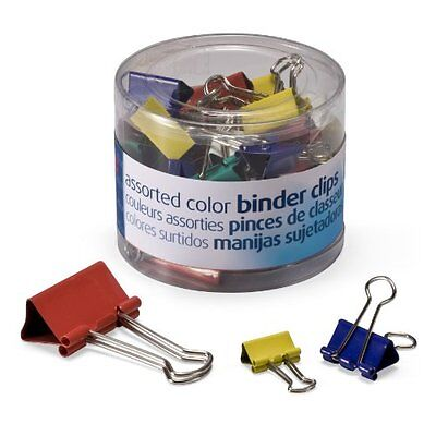 Oic Binder Clip Assortment - Mini Small Medium - 1 Pack - Oic31026