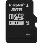 Kingston MicroSD 8GB Class 10