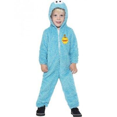 Kostüm Cookie Monster Sesamstrasse Kinder Fasching Karneval