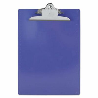 Saunders Plastic Clipboard 1 Capacity Holds 8-12w X 12h Purple Sau21606