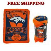 Denver Broncos Blanket