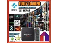 MXQ Pro 4K Android TV Box - Fully Loaded with Kodi & MOBDRO - MOVIES ✔MUSIC ✔ SPORTS ✔ LIVE ✔& MORE