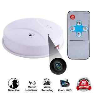 mini spy camera cam smoke alarm detector dv video dvr nanny hidden motion ebay. Black Bedroom Furniture Sets. Home Design Ideas