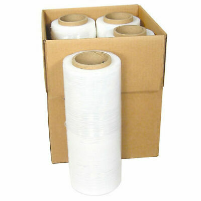 18 X 1500ft 80 Gauge Pallet Wrap Stretch Film Shrink Hand Wrap 4 Rolls