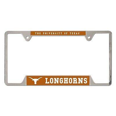 Texas License Plate Frames (Texas Longhorns License Plate Frame Metal)