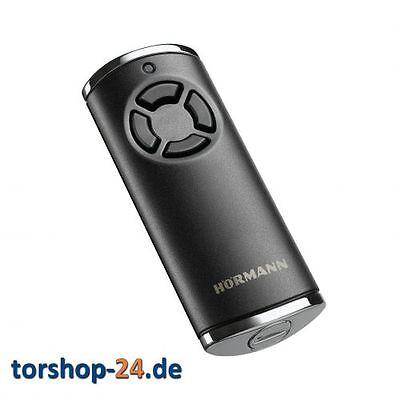 Hörmann Handsender HS 4 868 MHz BiSecur schwarz struktur Funk Fernbedienung BS