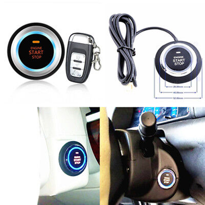 One Key Remote Start/Lock Vibration Alarm Remote Control Security System For Car