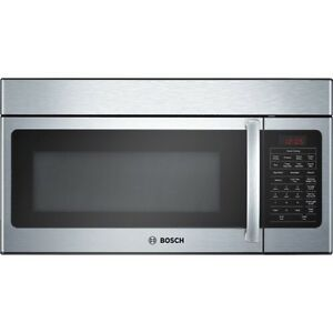 Bosch over the range   microwave oven