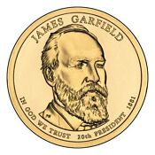 James Garfield Presidential Coins