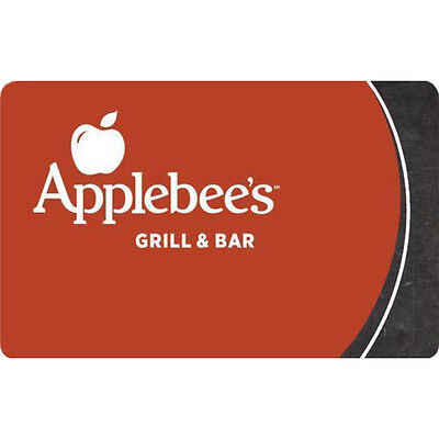 Buy A  50 Applebees Bar   Grill Gift Card For Only  40   Fast Email Delivery