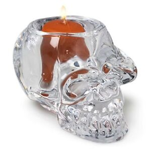 Large-Skull-Glass-Candle-Holder-for-Tealights-Comes-with-Free-Soy-Tealight