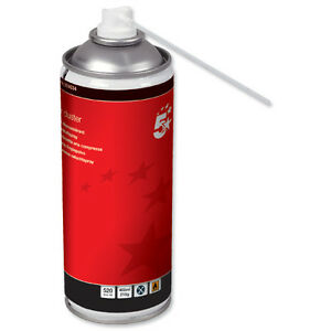 12 x large cans compressed air duster 400ml can keyboard spray cleaning 924642 ebay. Black Bedroom Furniture Sets. Home Design Ideas