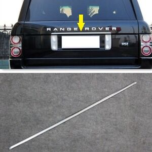 Range Rover L322 2003-2013 Bright Chrome Rear Trunk TAILGATE TRIM STRIP