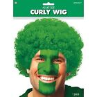 Afro Green Costume Wigs & Facial Hair