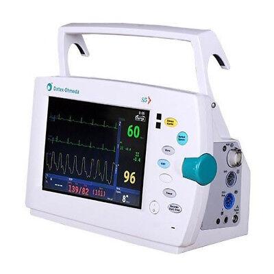 Datex Ohmeda S5 Light Patient Monitor - Ecg Spo2 Nibp Printer Color Screen
