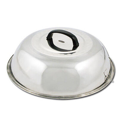 Winco Wkcs-14 13.75-inch Wok Cover Stainless Steel