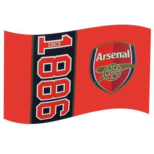 Arsenal Fc Large Supporters Flag 5ftx3ft 5x3' SN