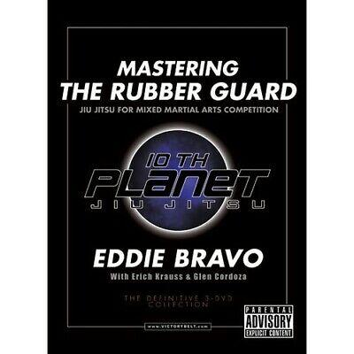 MASTERING THE RUBBER GUARD Eddie Bravo 3 DVD Brazilian Jiu Jitsu BJJ MMA B403