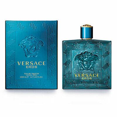 Versace Eros 6.7 Oz Eau De Toilette Spray By Versace New In Box For Men