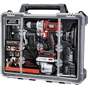 Black decker matrix 6 combo kit de herramientas for Black friday herramientas electricas
