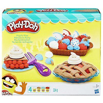 Kids Fun Factory Kitchen Craft Play Doh Baking Pies Set Playset Playdough Toys