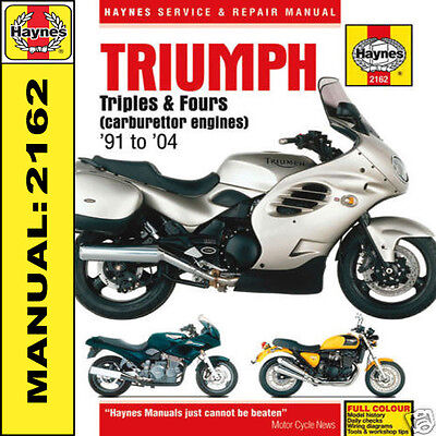 Triumph Thunderbird 1200 1000 750 900 Legend TT 91-04 Haynes Manual 2162 NEW