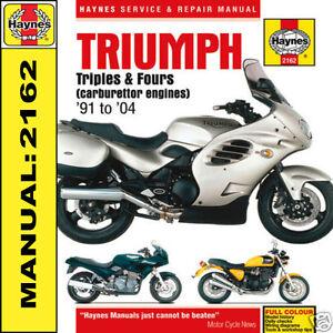 Triumph-Thunderbird-1200-1000-750-900-Legend-TT-91-04-Haynes-Manual-2162-NEW