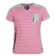 Mens Pink Short Sleeve Shirt