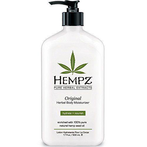 Hempz Herbal Original Moisturizer & After Tan Tanning Lotion