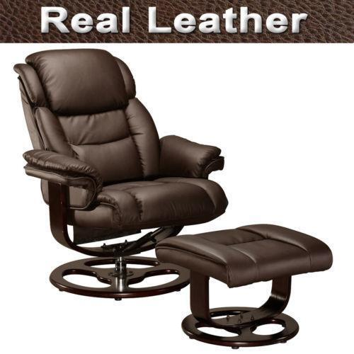 Real leather dining