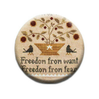 Freedom From Little House Needleworks Needle Minder Keeper Nanny Magnet