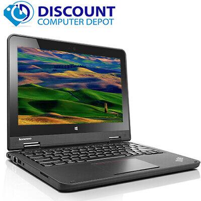 Lenovo Thinkpad Yoga Laptop Tablet PC Dual Core Windows 10 HDMI 4GB 128GB SSD HD