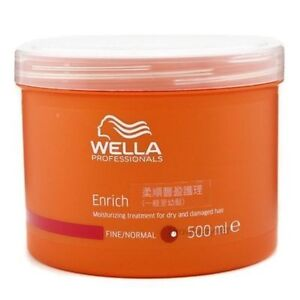 Wella Enrich Mask For Fine To Normal 500ml