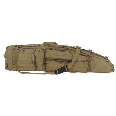 """Voodoo Tactical The Ultimate Drag Bag 51"""" Outside Military Grade Coyote Case Bag"""