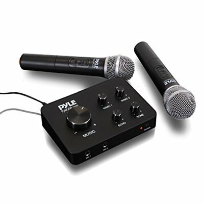 - Home Karaoke Mic System - Connect to TV, Radio, Amp, Speaker (PDWMKHRD22WM)