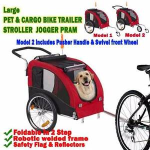 BrandNew Large Pet Dog Cargo Stroller Jogger Bicycle Bike Trailer Maylands Bayswater Area Preview