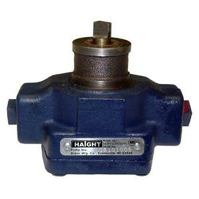 Haight Fryer Filter Pump For Broaster -part 09273 Same Day Shipping