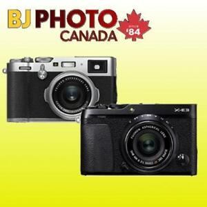 BRAND NEW! FUJI X-E3 / X-100F / X-PRO2 / X-H1 AND MORE - KITS WITH FULL WARRANTY