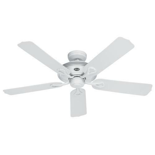 Hunter Baybrook 52 Onyx Bengal Damp Rated Ceiling Fan At: Hunter Outdoor Ceiling Fan