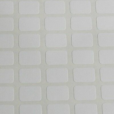 196 Small White Sticky Labels 9x13 Mm Price Stickers Tags Blank Self Adhesive