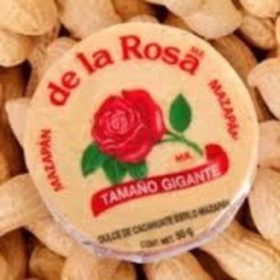 De la Rosa GIANT Mazapan Peanut Candy 20 pieces