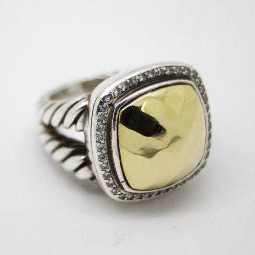 David Yurman Gold Ring Ebay