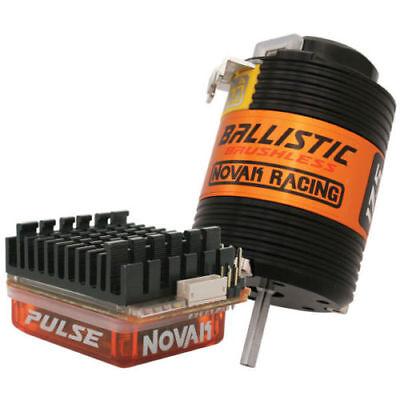 Novak Pulse Heavy Duty Pro Brushless 2s Esc W/Ballistic 17.5 Motor NOV3177P