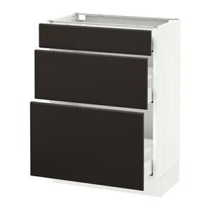 IKEA- 3 Drawer Kitchen or Bathroom Cabinet (WHITE)