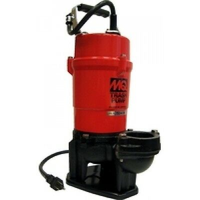 Multiquips St2040t 40 Head 115v 2 Discharge 79 Gpm Submersible Trash Pump