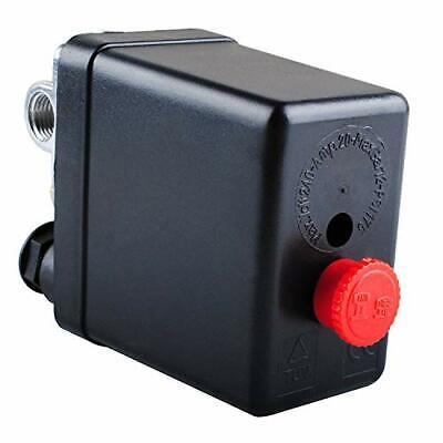 Air Compressor Pressure Switch Control Valve 90-150 Psi 4 Port Heavy Duty 26 Amp