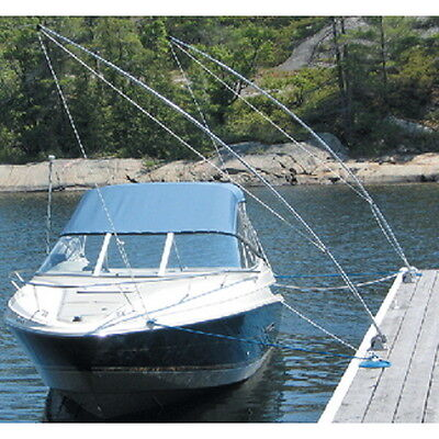 2 Pack of 12 ft Ultimate Mooring Whips for Boats up to 23 ft and 5,000 lbs