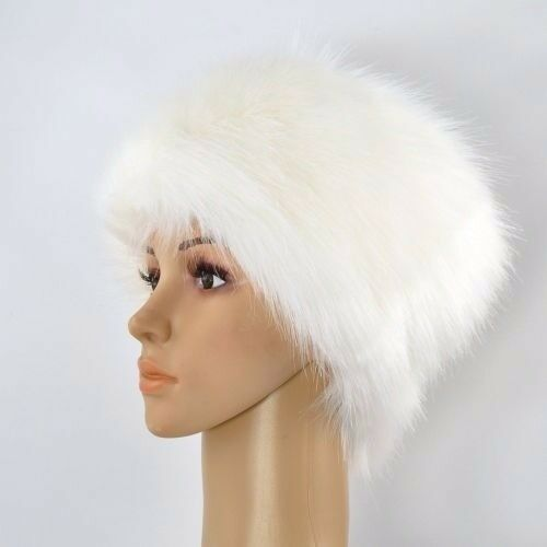 Top quality faux fur hat, Christmas present, brand new