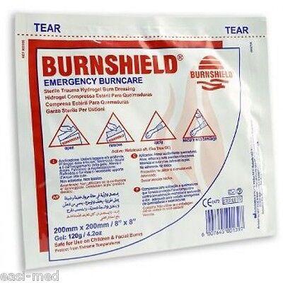 Gel-dressing (Burnshield Burn Gel Dressing 20cm x 20cm First Aid )